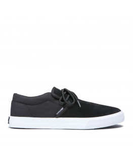 Chaussures SUPRA CUBA black white fall 2019_08108-002-M front