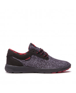 SUPRA HAMMER RUN black riskred black