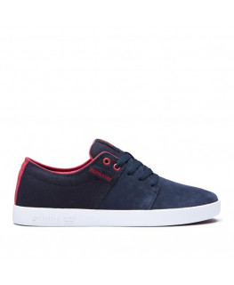 Chaussures SUPRA STACKS II navy rose white_08183-460-M front