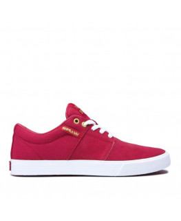 Chaussures SUPRA STACKS II VULC rose white_08029-633-M front