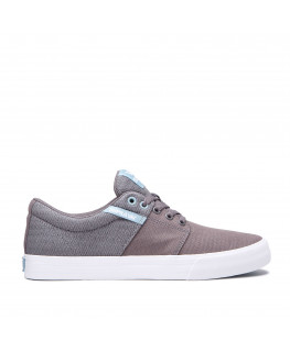 Chaussures SUPRA STACKS VULC II grey aquifer white 08194-063-M