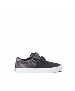 Chaussures SUPRA STACKS VULC II V grey camo white_58334-042-M front