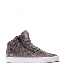 SUPRA WOMENS CUTTLER grey white 98340-015-M