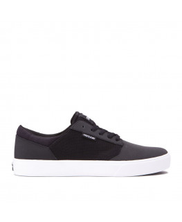 SUPRA YOREK LOW black white