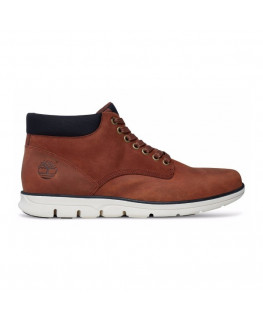 Chaussures TIMBERLAND BRADSTREET CHUKKA Md brown full grain_TB0A13EE214 front