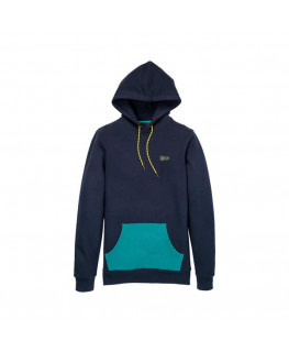 SWEAT CAPUCHE SUPRA TRAILBLAZE PULLOVER navy teal_102561-489 front