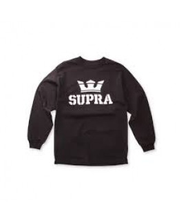 tee shirt supra above longsleeve tee black 103779-008