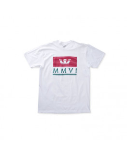 Tee shirt SUPRA CROWN JEWEL SS white red tea_102103-127