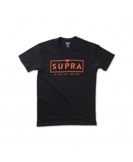 Tee Shirt SUPRA WE ARE SUPRA SS black blush_102220-012 front