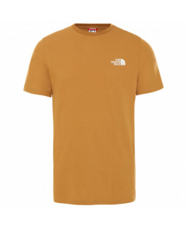 tee-shirt-the-north-face-men's-s/s-simple-dome-tee---eu-timber-tan-nf0a2tx5vc71